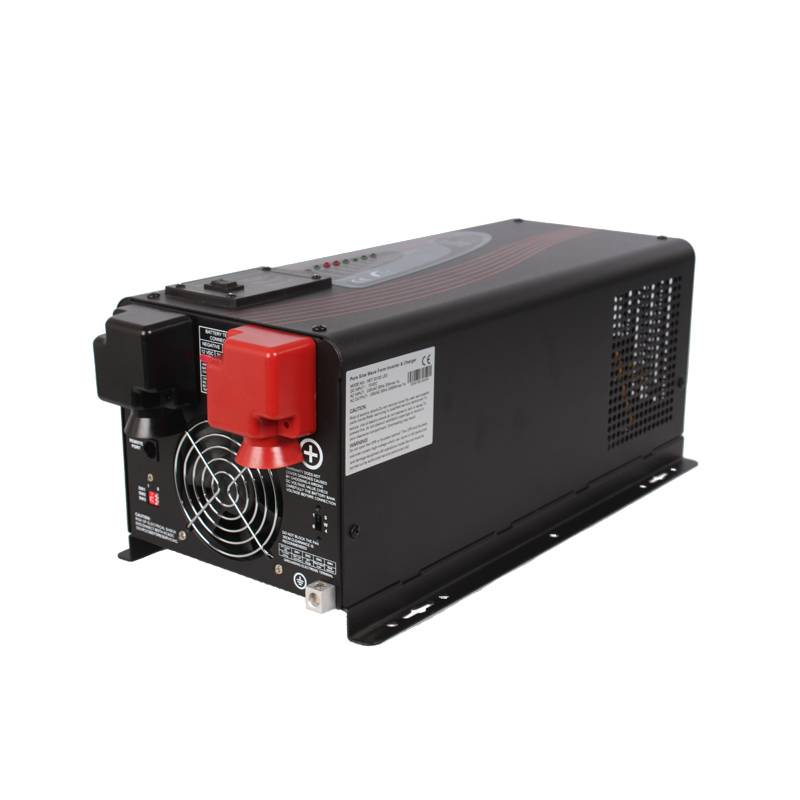 Off Grid Home Inverter 4000W 24V/48VDC 110/220VAC with 300% surge power/ AC smart charge