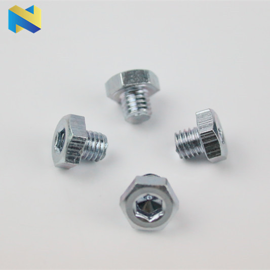 Hex head bolt with hex socket special bolt non-standard bolt