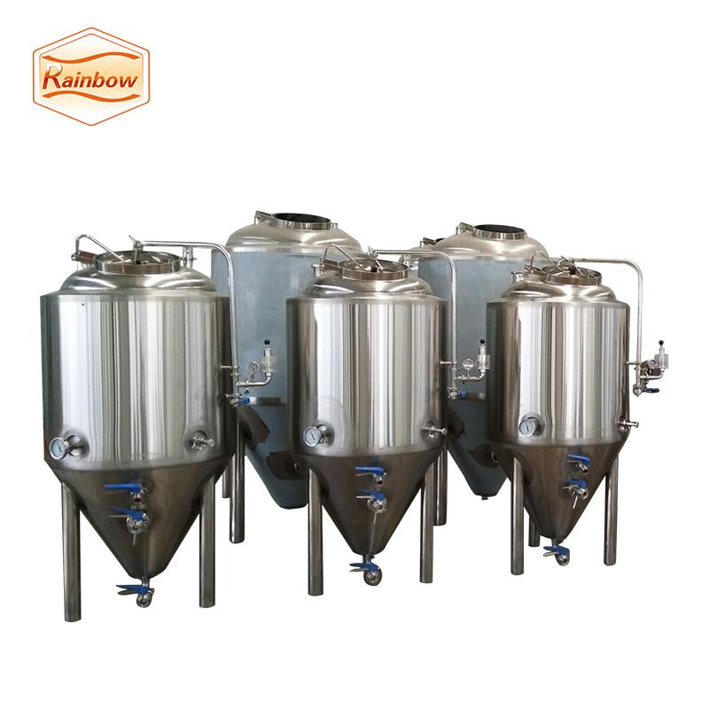 Beer brewing equipment fermentation tank brewery vessel