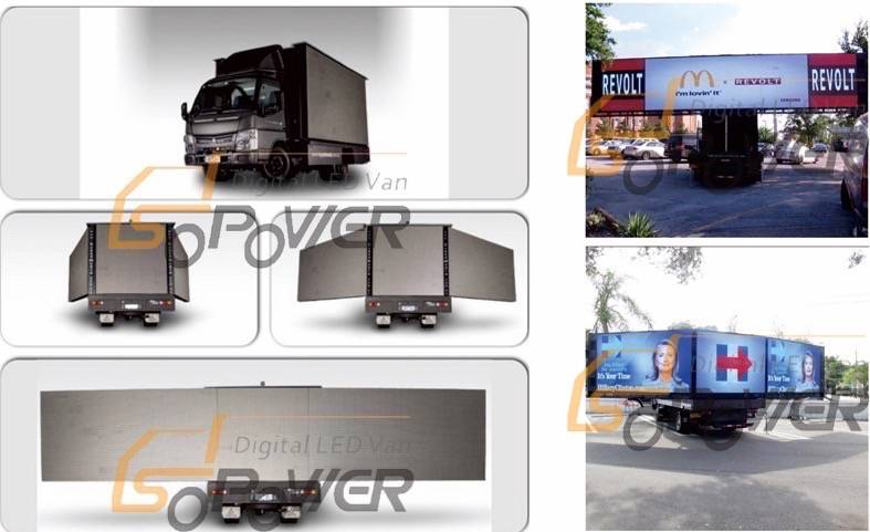 SoPower HD P6 Outdoor Full Color LED Mobile Stage Truck iTruck28
