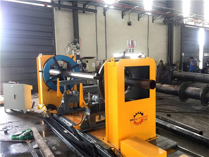Head Tail Stock Robot Servo PLC Precise welding positioner table