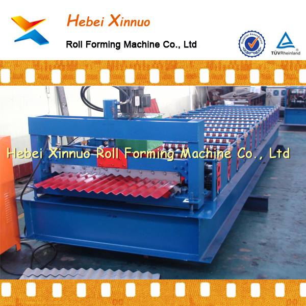 roof and wall roll forming machinery