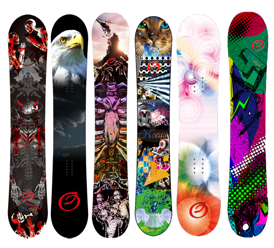 2017 newest wholesale snowboard make in china