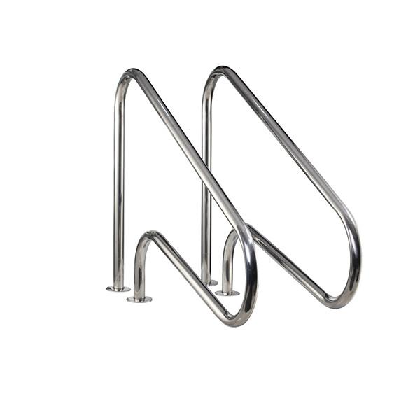 ARG Modern stainless steel 304/316 flange swimming pool handrail