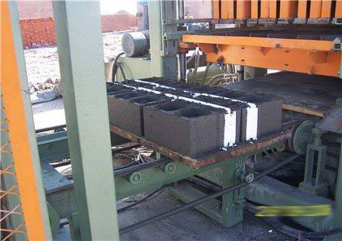 concrete insulation bricks making machine