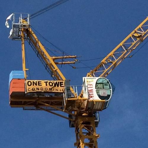 Tower crane Luffing 40/5
