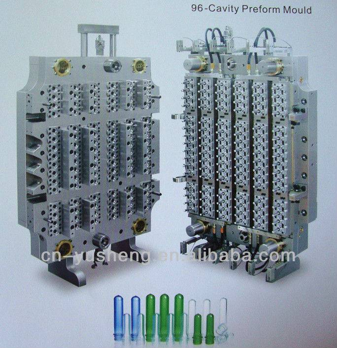 96-cavity PET preform mould