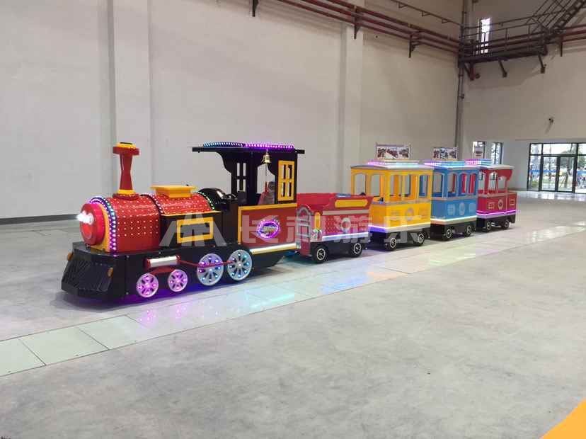 Hot amusement park electric kids train rides for sale