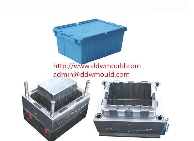 DDW Household Plastic Crate Mold Plastic Turnover Box Mold