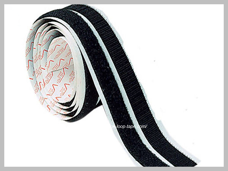 Strong stick power 3M velcro hook and loop fastening with adhesive backing