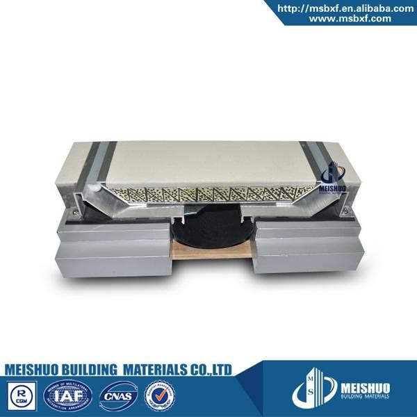 POP UP System concrete floor flush seismic aluminum profile sealant filler design of expansion joint