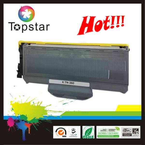 hot laser toner TN360 compatible toner cartridge TN360 for Brother printer HL2140 HL2150N HL2170W DC