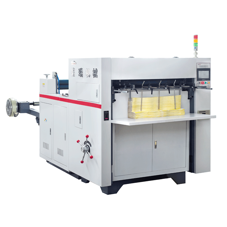 MR-850 The Newest High speed automatic roll creasing die cutting machine