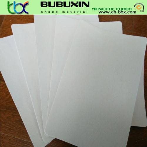 Non-woven chemical sheet for making shoes toe puffs