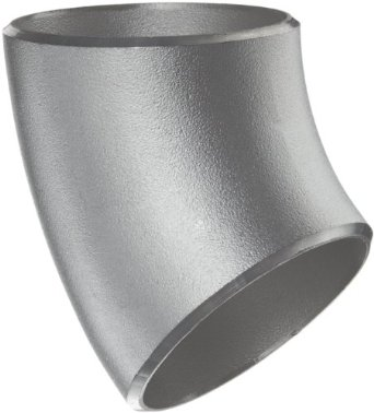 Stainless Steel 45 Degree Long Radius Elbow (Butt Weld Fitting)