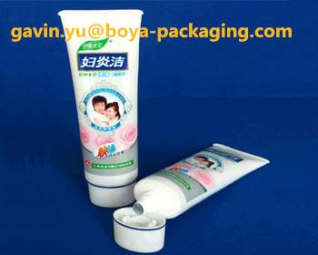 medical packaging pharmaceutical plastic packaging flat tube with screw top cap