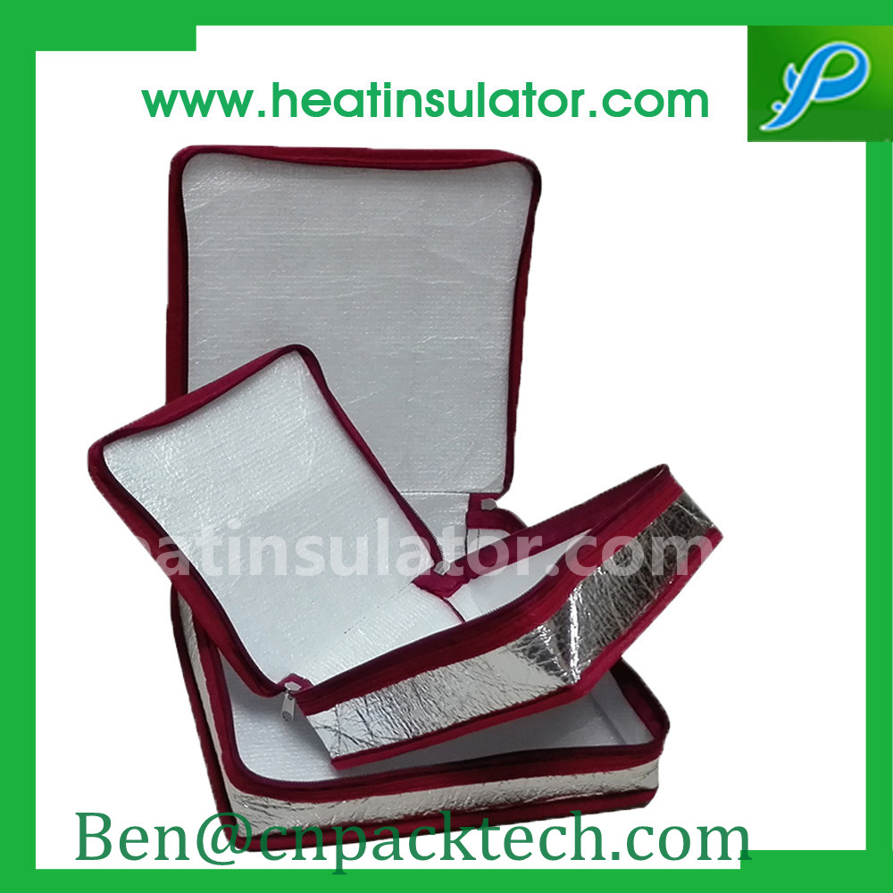 Retain Freshness Silver Insulated Foil Bags Moisture Shock Absorption
