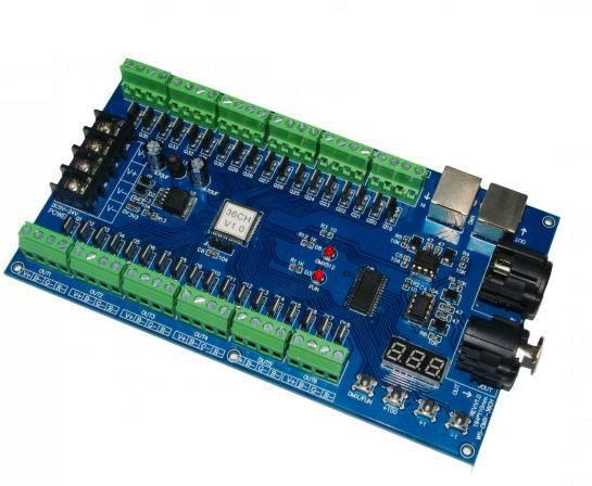 36 channel dmx controller/decoder for rgb led strip rgb led products;36CH dmx decoder  DC5V-DC24V