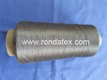 Stainless steel fiber conductive thread