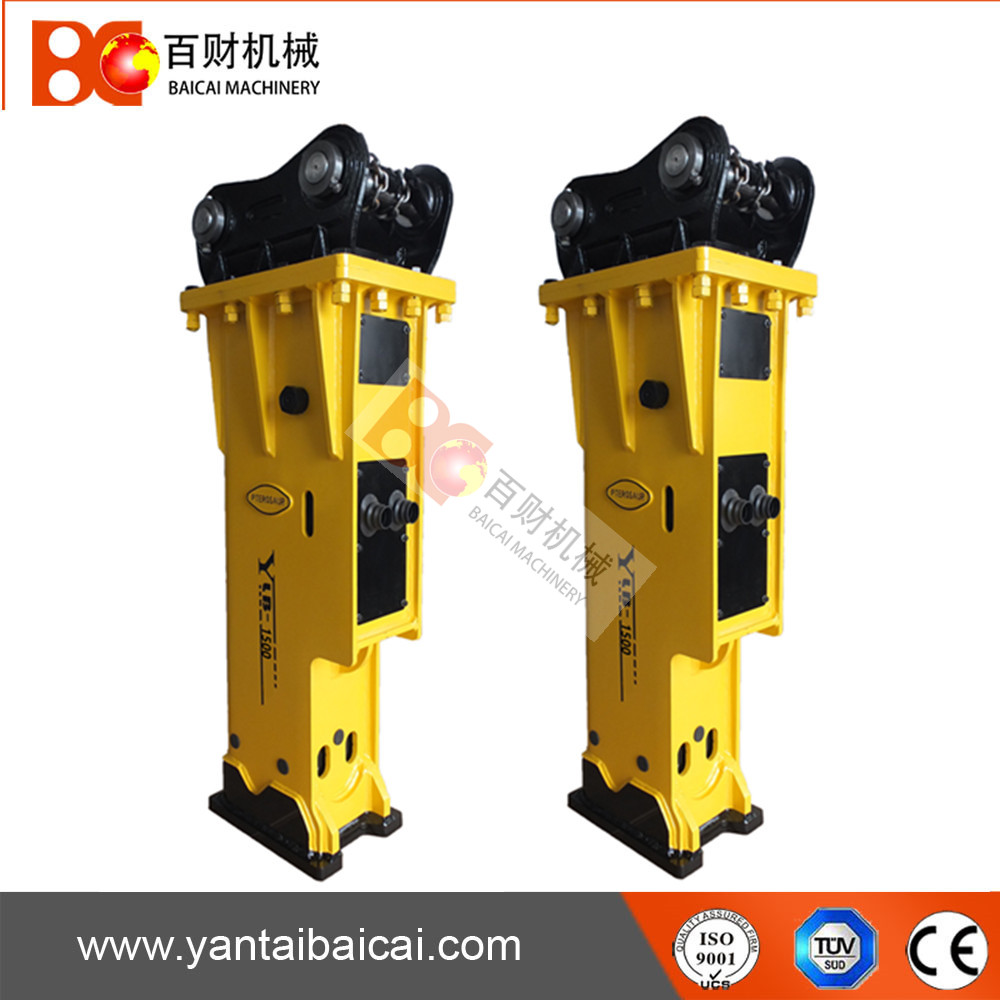 FOR 11-16TON excavator silent hydraulic rock breaker hammer (YLB1000)