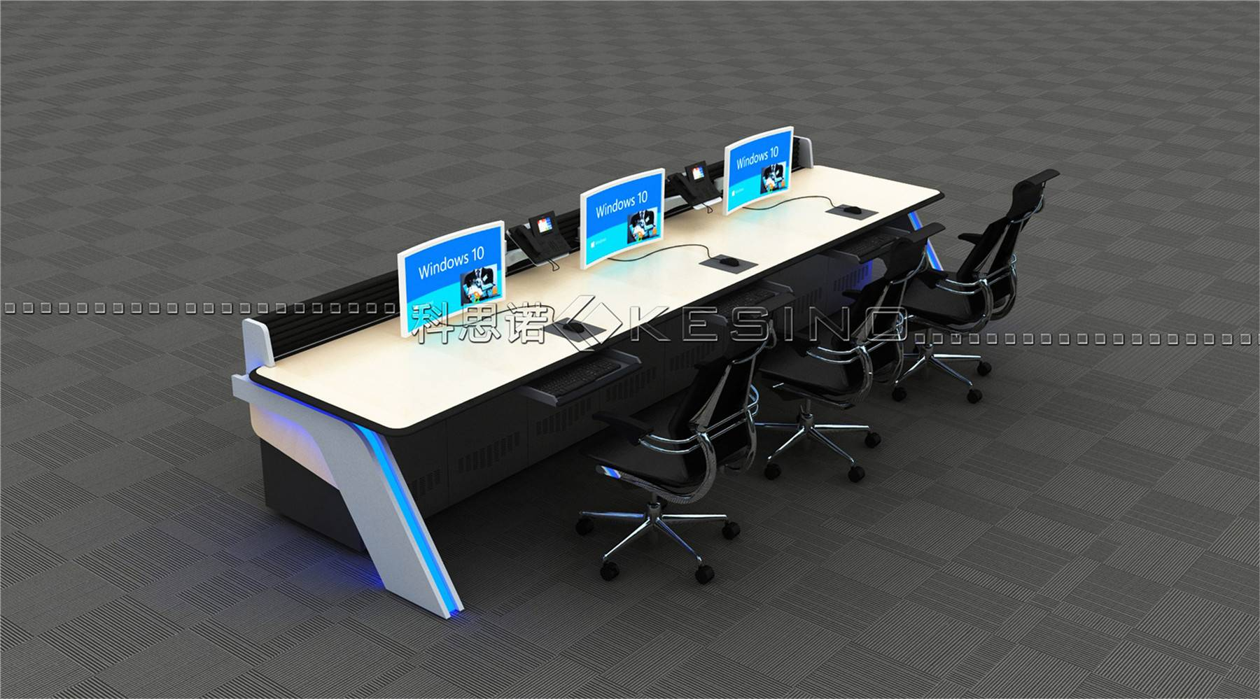 ISO Certified superior quality  console for control room