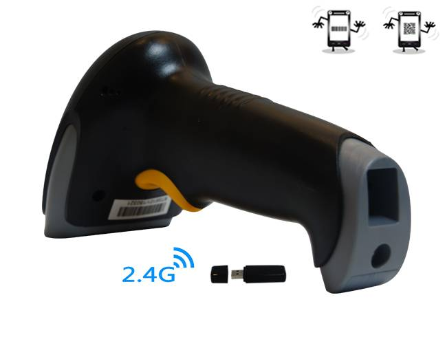 Wirelss 2D image barcode scanner for POS system with stable quality