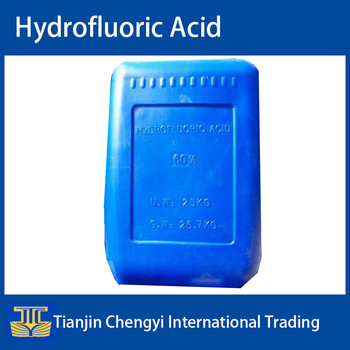China high quality industrial hf hydrofluoric acid for sale
