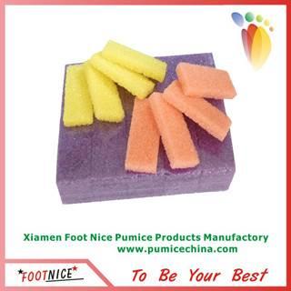 mini salon nail pumice sponge bars for callus remover