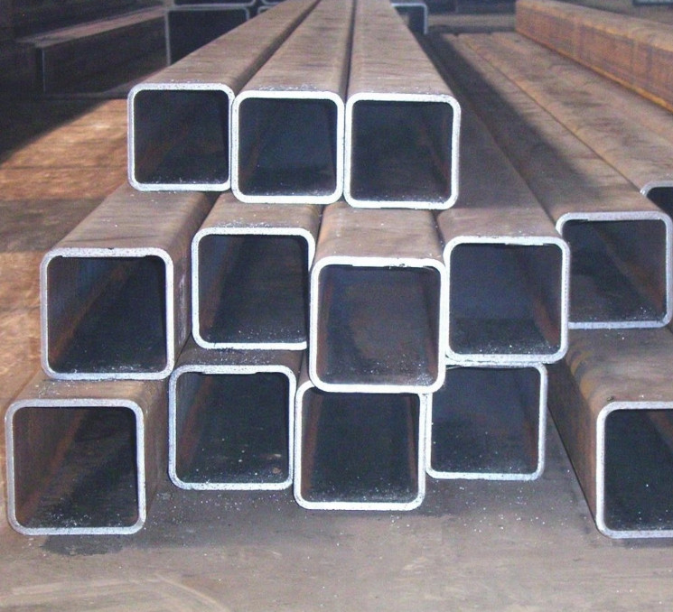 erw welded hot rolled black carbon rectangular hollow section square steel pipe making