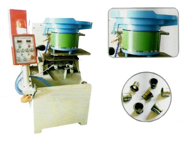 The pneumatic 2 spindle expanding nut tapping machine
