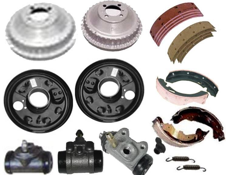 Brake Shoe Assembly and Brake Drum Parts