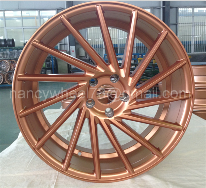 OEM New Design Alloy Wheel Car aluminium Alloy Wheel/ Replica vossen Wheel