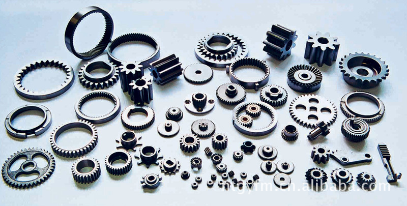 Ring Gear, Spur Gear and shaft for off-road equipments