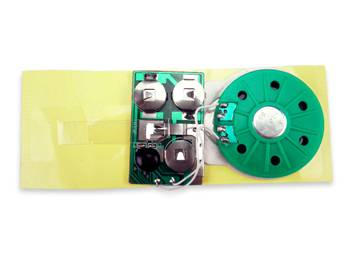 Greeting card sound module