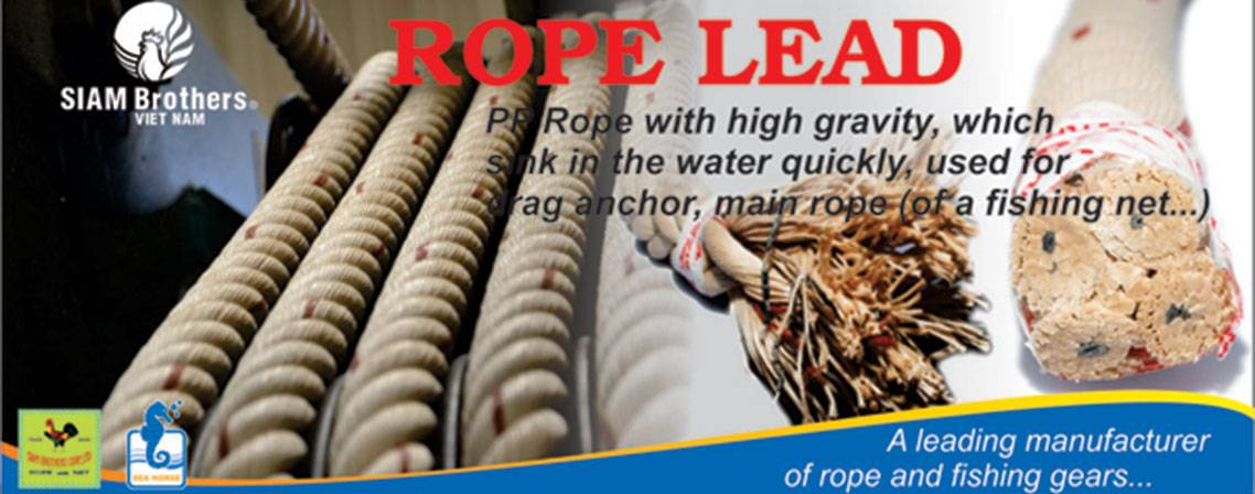 Lead Rope - Vietnam Fishing Rope