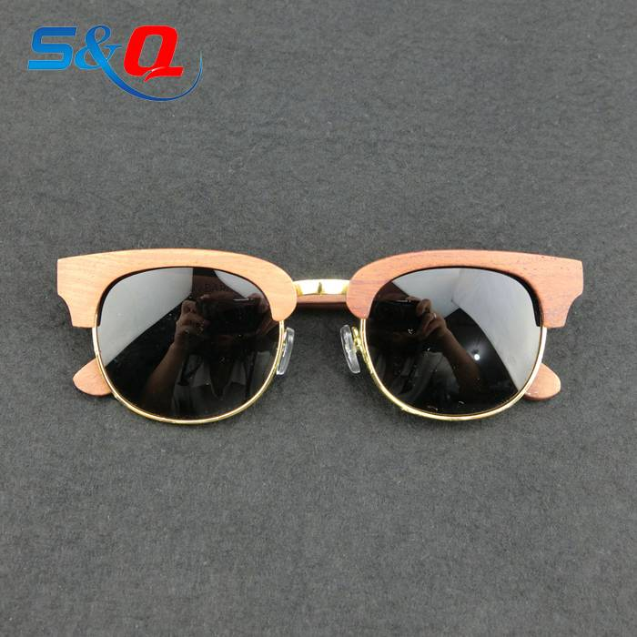 custom polarized eyewear wood eyeglasses wood bamboo sun glasses