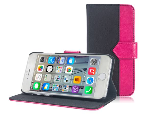 IP6S913 Folio Stand Leather Case for iPhone 6/6s