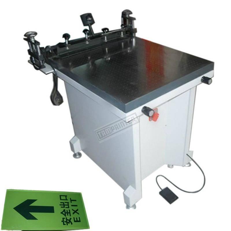 (TAM-6080S) Manual Glass Screen Printer