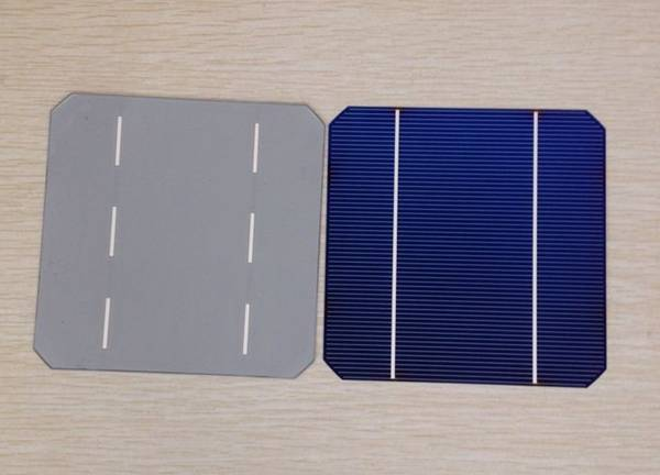 125x125mm Size and Mono-crystalline Silicon Material Solar Cell For Sale