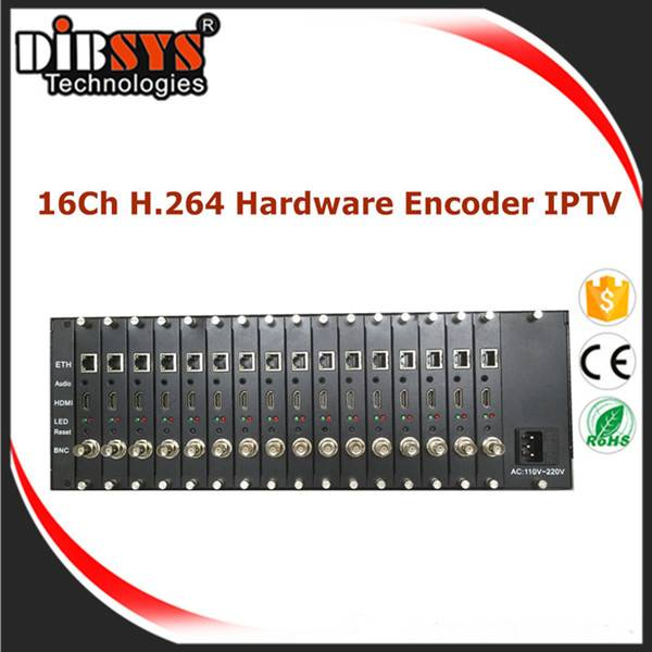 HD-SDI/HDMI/VGA/CVBS Video IPTV Streamer