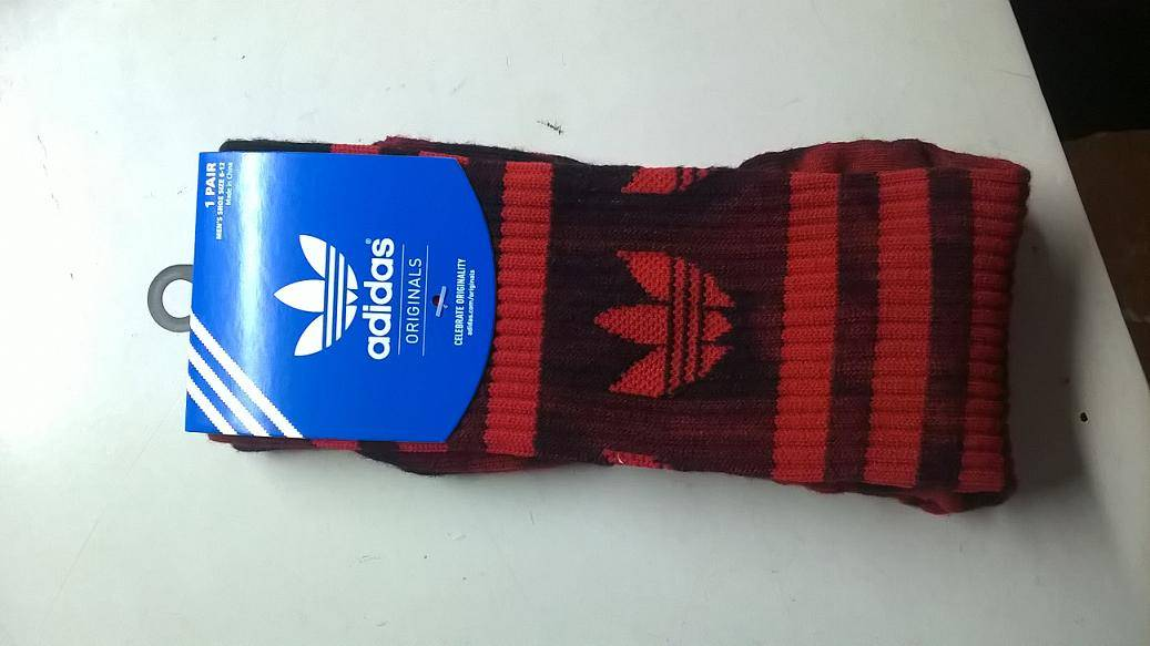 Sublimated terry sports socks