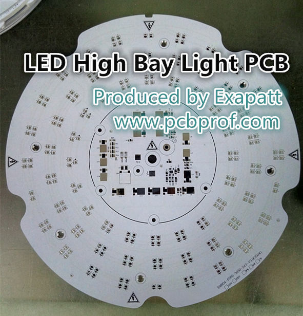 High Bay Light LED PCB, MCPCB, Aluminum PCB