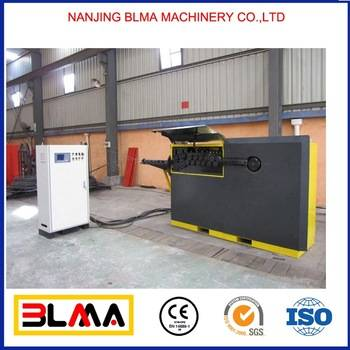 Chinese BLMA brand profile rebar bender and cutter,cnc rebar stirrup bender machine