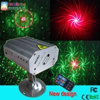Newest design wide range mini laser light multifunction laser stage light 12 patterns effect disco l