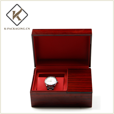 Wooden color Jewelry watch box