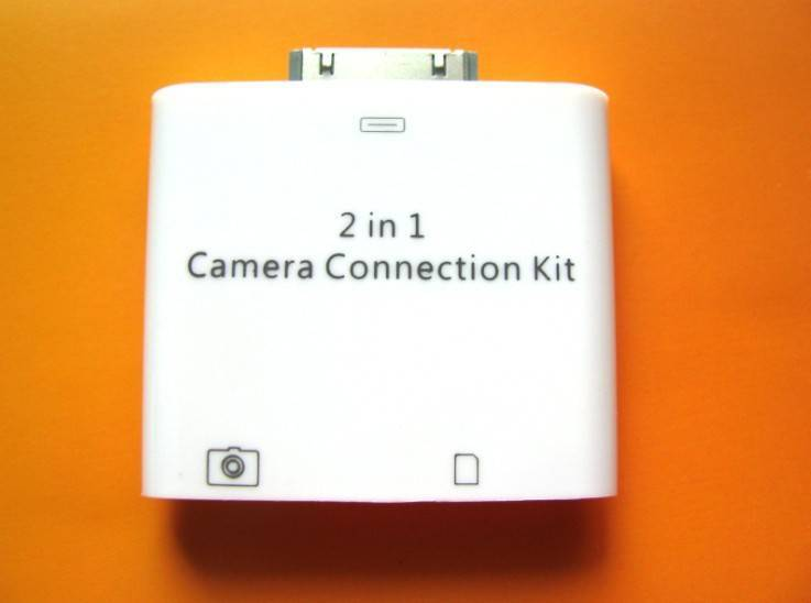 2 in 1 ipad camera connection kit