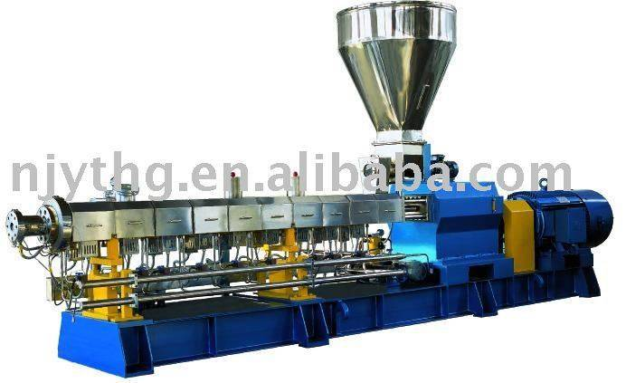 SHJ-75A water cooling strands twin screw extruder