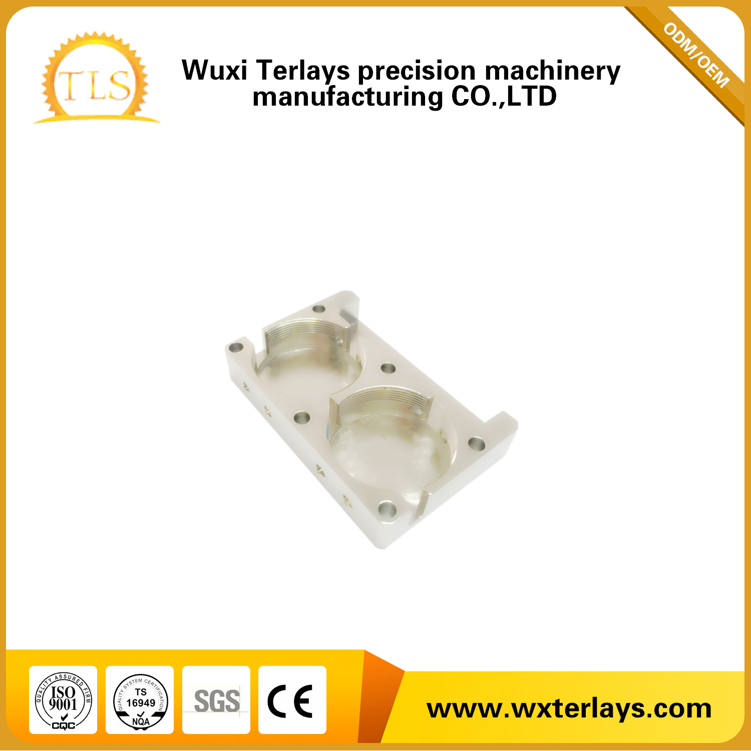 Customize Aluminum Die Casting Parts for Communication Cavity/Device