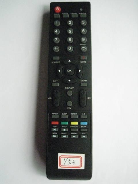 Remote Control for Video & Audio, Universal,Y53