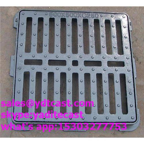 ductile iron gully grating/rain gully grate high quality